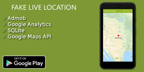Fake Live Location | GPS Location (Nulled) [Latest Version] thumbnail