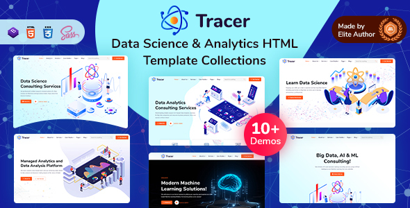 Data Science & Analytics Templates Collection – Tracer (Nulled) [Latest Version] thumbnail