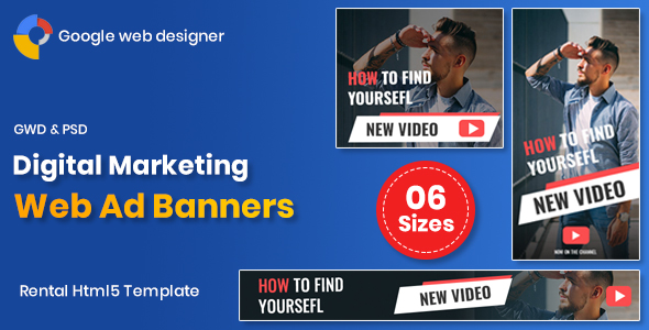 Digital Marketting Banners GWD (Nulled) [Latest Version] thumbnail
