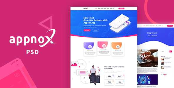 Appnox – Product Landing PSD Template (Nulled) [Latest Version] thumbnail