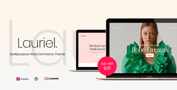 Lauriel – Multipurpose WooCommerce Theme (Nulled) [Latest Version] thumbnail