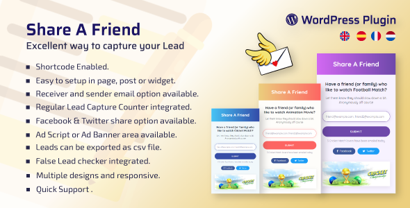 WP Share A Friend (Nulled) [Latest Version] thumbnail