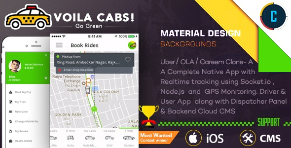 [Free Download] Taxi Booking Script – A Complete Clone of UBER with User,Driver & Backend CMS Coded with Native iOS (Nulled) [Latest Version]