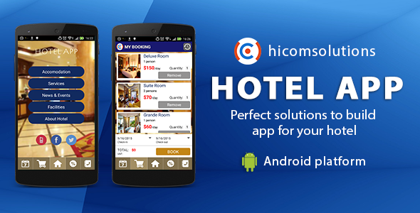 Hotel Mobile App Template – Android (Nulled) [Latest Version] thumbnail