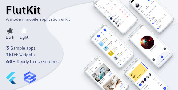 [Free Download] Flutkit – Flutter UI Kit (Nulled) [Latest Version]