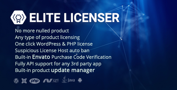 [Free Download] Elite Licenser- Software License Manager for Any App (Nulled) [Latest Version]