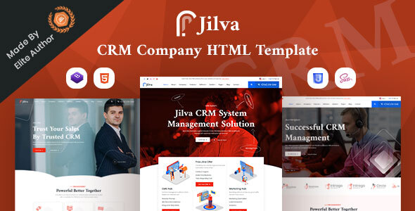 [Free Download] Jilva – CRM Solutions Company HTML Template (Nulled) [Latest Version]