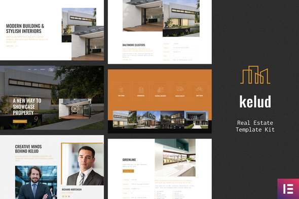 Free Download Kelud Real Estate Template Kit Nulled Latest Version Bignulled