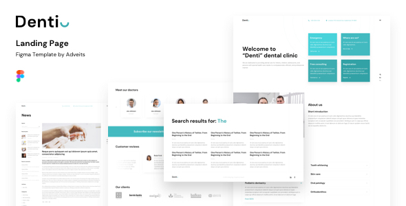 [Free Download] Denti – Landing page Figma Template (Nulled) [Latest Version]