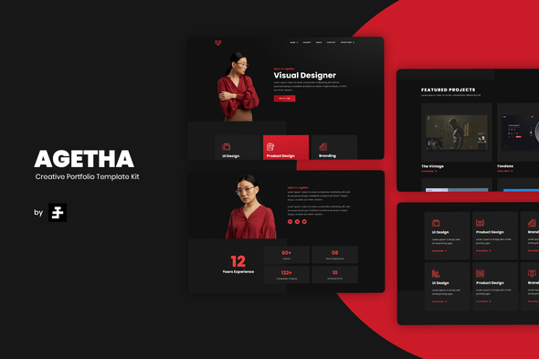 [Free Download] Agetha – Creative Portfolio Template Kit (Nulled) [Latest Version]