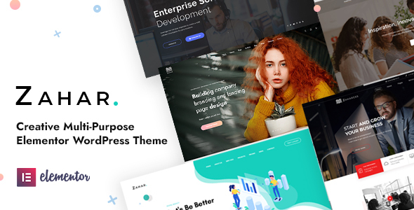 [Free Download] Zahar – Creative Multipurpose Elementor WordPress Theme (Nulled) [Latest Version]
