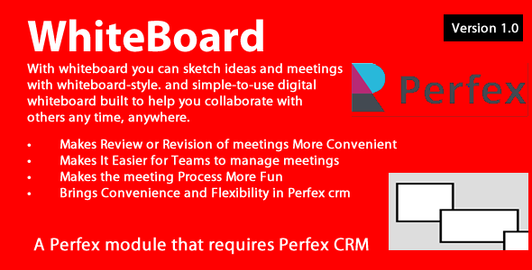 [Free Download] Whiteboard module for Perfex CRM (Nulled) [Latest Version]