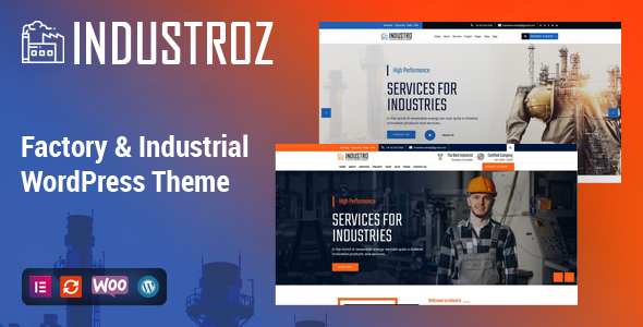 [Free Download] Industroz – Factory & Industrial WordPress Theme (Nulled) [Latest Version]