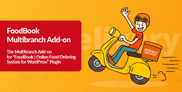 [Free Download] FoodBook Multibranch Add-on (Nulled) [Latest Version]