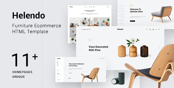 [Free Download] Helendo – Furniture eCommerce HTML Template (Nulled) [Latest Version]