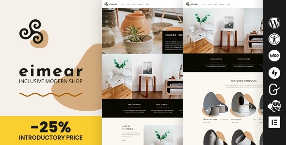[Free Download] Eimear – Inclusive WooCommerce WordPress Theme (Nulled) [Latest Version]