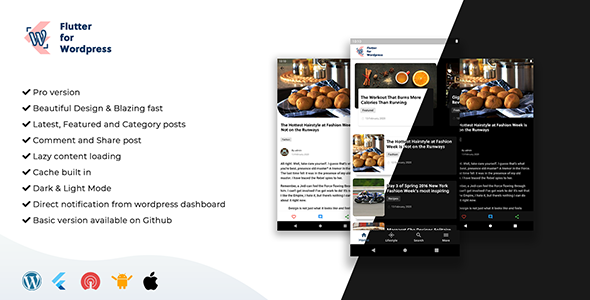 [Free Download] Flutter for WordPress Pro (Nulled) [Latest Version]