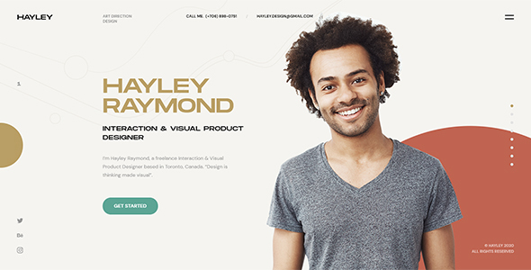[Free Download] Hayley – Personal CV/Resume WordPress Theme (Nulled) [Latest Version]