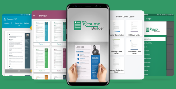 Free Download Resume Cv And Cover Letter Builder App With Admob Ads Nulled Latest Version Bignulled