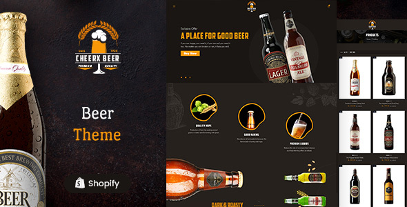 [Free Download] Cheerx – Beer & Liquor Store Shopify Theme (Nulled) [Latest Version]