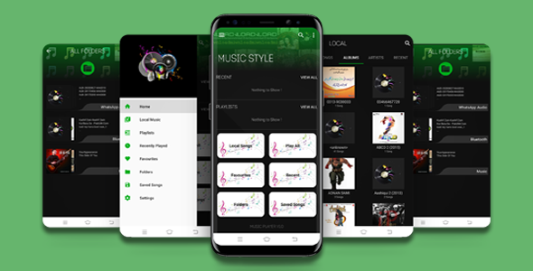 [Free Download] Stylish Music Player App with Admob Ads (Nulled) [Latest Version]