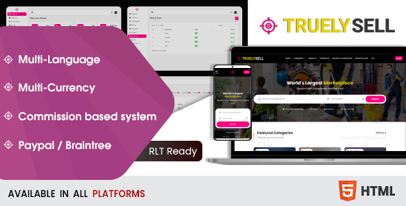 [Free Download] Truelysell – Bootstrap HTML Template (Nulled) [Latest Version]