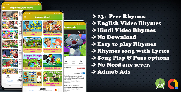 [Free Download] Kids Nursery Rhymes Song and Video Rhymes (Nulled) [Latest Version]