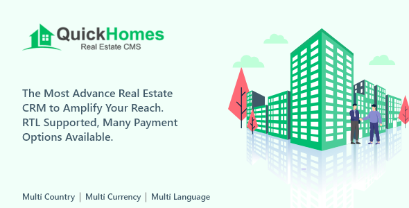 [Free Download] QuickHomes – Real Estate CMS PHP Script (Nulled) [Latest Version]
