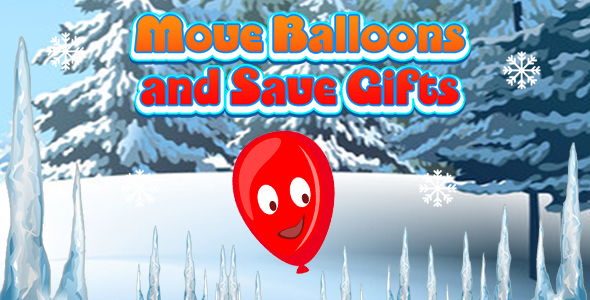 [Free Download] Move Balloons and Save Gifts (CAPX and HTML5) Christmas Game (Nulled) [Latest Version]