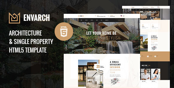 [Free Download] EnvArch – Architecture and Single Property HTML5 Template (Nulled) [Latest Version]
