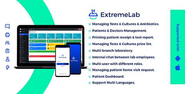 [Free Download] Extreme Laboratory Management system (Nulled) [Latest Version]