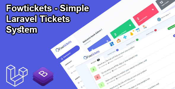[Free Download] Fowtickets – Simple Laravel Tickets System (Nulled) [Latest Version]