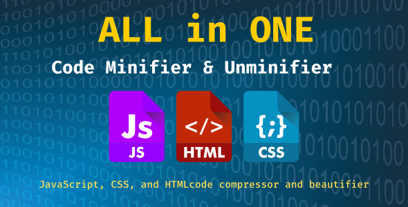 [Free Download] All in ONE – Code Minifier & Unminifier (Nulled) [Latest Version]