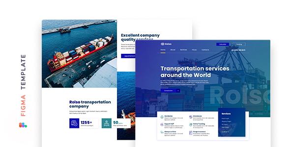 [Free Download] Rolso – Logistic Company Template for Figma (Nulled) [Latest Version]