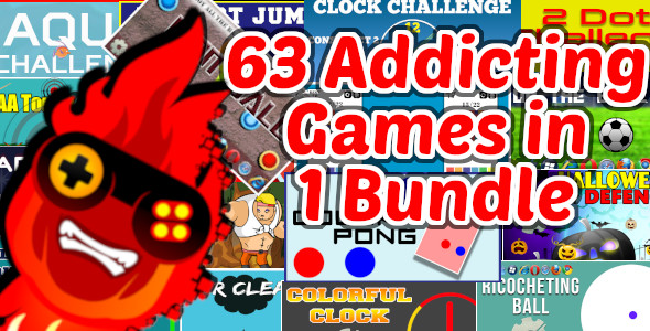 [Free Download] 63 Addicting Construct 2 HTMl5 Games with Capx in 1 Bundle | HTML5 and iOS and Android (Nulled) [Latest Version]