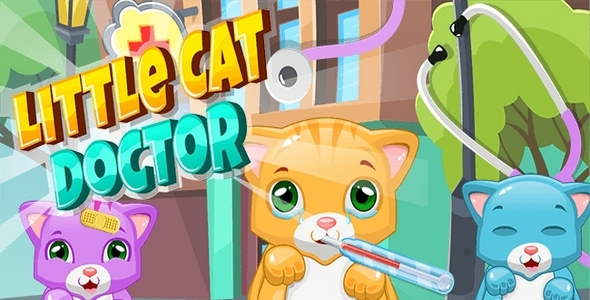 [Free Download] Little Cat DoctorPet Vet Game (Nulled) [Latest Version]