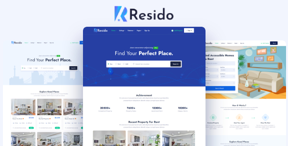 [Free Download] Resido – Real Estate HTML Template (Nulled) [Latest Version]