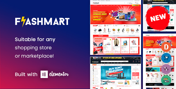 [Free Download] FlashMart – Multipurpose Elementor WordPress Theme (Nulled) [Latest Version]