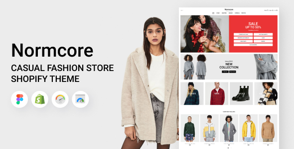 [Free Download] Normcore – Shopify Casual Fashion Store Theme (Nulled) [Latest Version]
