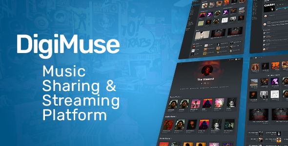 [Free Download] DigiMuse – Music Streaming Platform (Nulled) [Latest Version]