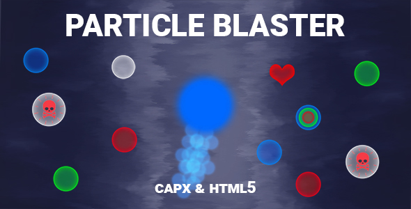 [Free Download] Particle Blaster Game (CAPX and HTML5) (Nulled) [Latest Version]