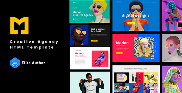 [Free Download] Marlon – Creative Agency Portfolio HTML Template (Nulled) [Latest Version]