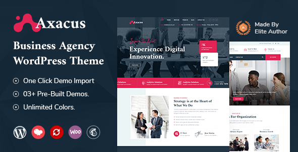 [Free Download] Axacus – Business Agency WordPress Theme (Nulled) [Latest Version]