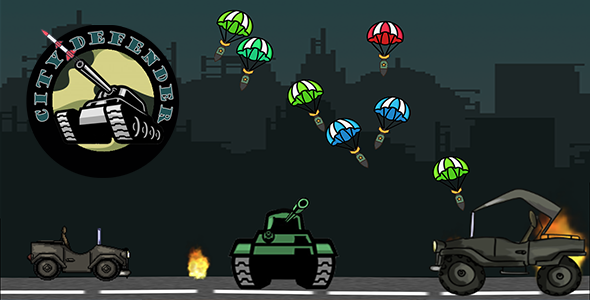 [Free Download] City Defender – HTML5 Mobile Game (Nulled) [Latest Version]