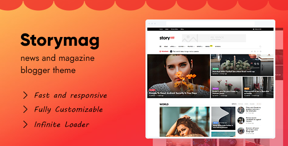 [Free Download] Story Mag – News Magazine Blogger Theme (Nulled) [Latest Version]
