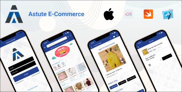 [Free Download] Astute E-Commerce   iOS Full Application (Nulled) [Latest Version]