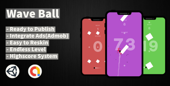 [Free Download] Wave Ball (Unity+Android+IOS+Admob) (Nulled) [Latest Version]