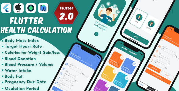 [Free Download] Flutter Health Calculation with Admob ready to publish (Nulled) [Latest Version]