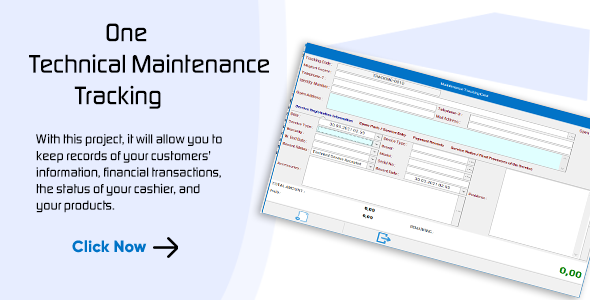 [Free Download] Technical Service Maintenance and Repair Program for Layered Architecture and C# Winforms (Nulled) [Latest Version]
