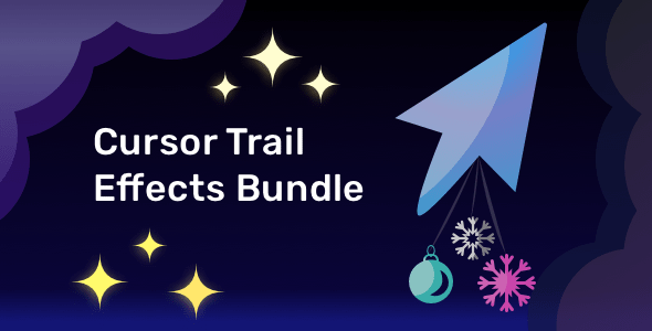 [Free Download] Cursor Trail Effects Bundle (Nulled) [Latest Version]
